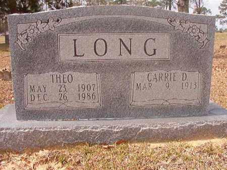 LONG, THEO - Hempstead County, Arkansas   THEO LONG - Arkansas Gravestone Photos