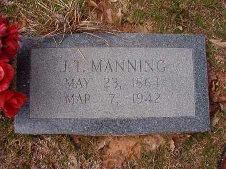 MANNING, J T - Hempstead County, Arkansas   J T MANNING - Arkansas Gravestone Photos