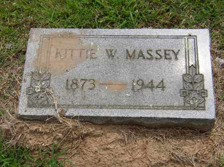 MASSEY, KITTIE W. - Hempstead County, Arkansas | KITTIE W. MASSEY - Arkansas Gravestone Photos