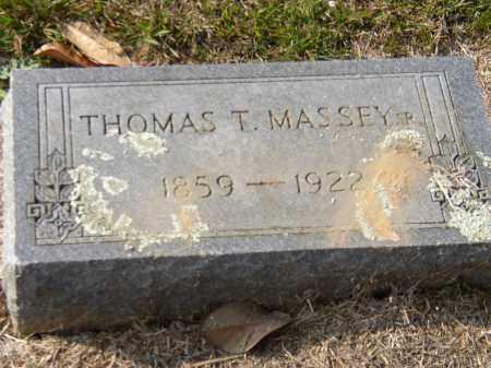MASSEY, SR., THOMAS T. - Hempstead County, Arkansas | THOMAS T. MASSEY, SR. - Arkansas Gravestone Photos