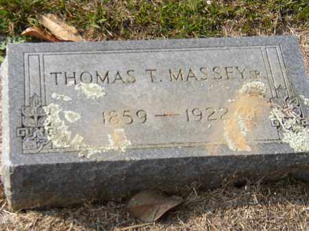 MASSEY, SR., THOMAS T. - Hempstead County, Arkansas | THOMAS T. MASSEY, SR. - Arkansas Gravestone Photos
