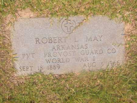 MAY (VETERAN WWI), ROBERT L - Hempstead County, Arkansas | ROBERT L MAY (VETERAN WWI) - Arkansas Gravestone Photos