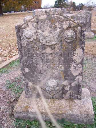 MAYERS, RUTH B - Hempstead County, Arkansas | RUTH B MAYERS - Arkansas Gravestone Photos