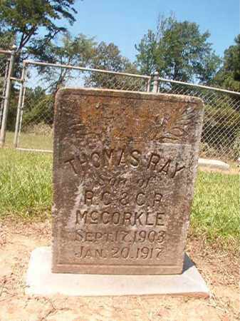 MCCORKLE, THOMAS RAY - Hempstead County, Arkansas | THOMAS RAY MCCORKLE - Arkansas Gravestone Photos