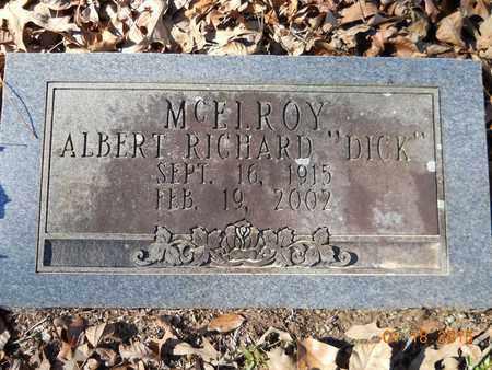 MCELROY, ALBERT RICHARD - Hempstead County, Arkansas | ALBERT RICHARD MCELROY - Arkansas Gravestone Photos
