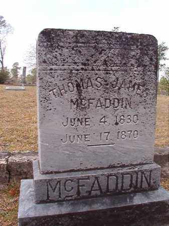 MCFADDIN, THOMAS JAMES - Hempstead County, Arkansas | THOMAS JAMES MCFADDIN - Arkansas Gravestone Photos