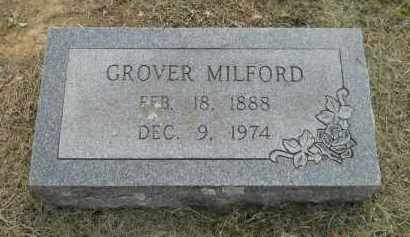 MILFORD, GROVER - Hempstead County, Arkansas   GROVER MILFORD - Arkansas Gravestone Photos