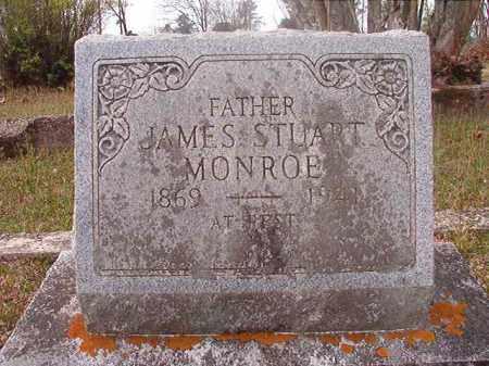 MONROE, JAMES STUART - Hempstead County, Arkansas   JAMES STUART MONROE - Arkansas Gravestone Photos
