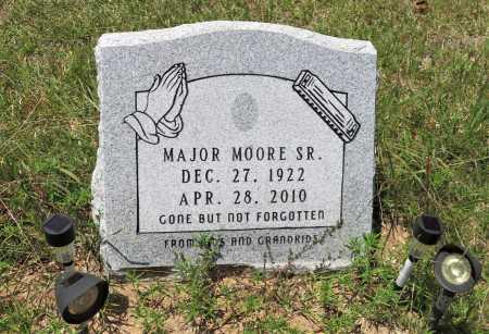 MOORE,SR, MAJOR - Hempstead County, Arkansas | MAJOR MOORE,SR - Arkansas Gravestone Photos