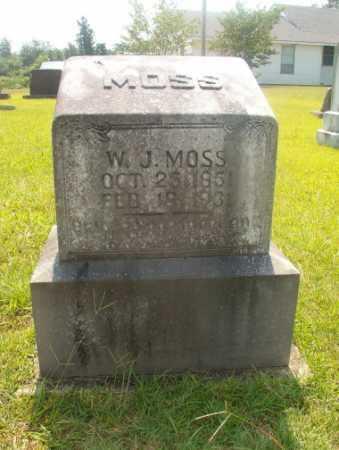 MOSS, W J - Hempstead County, Arkansas | W J MOSS - Arkansas Gravestone Photos