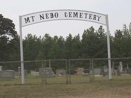 *MOUNT NEBO CEMETERY GATE,  - Hempstead County, Arkansas    *MOUNT NEBO CEMETERY GATE - Arkansas Gravestone Photos