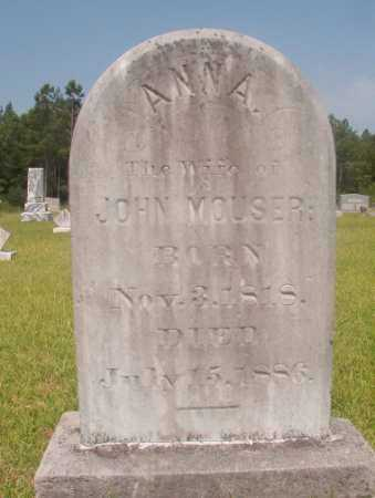 MOUSER, ANNA - Hempstead County, Arkansas | ANNA MOUSER - Arkansas Gravestone Photos