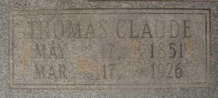 MOXLEY, THOMAS CLAUDE (CLOSEUP) - Hempstead County, Arkansas   THOMAS CLAUDE (CLOSEUP) MOXLEY - Arkansas Gravestone Photos