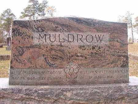 MULDROW, WILLIAM SCRIVEN - Hempstead County, Arkansas | WILLIAM SCRIVEN MULDROW - Arkansas Gravestone Photos