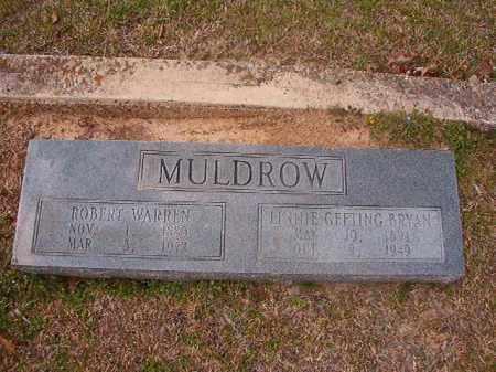 BRYAN MULDROW, LINNIE GEETING - Hempstead County, Arkansas | LINNIE GEETING BRYAN MULDROW - Arkansas Gravestone Photos