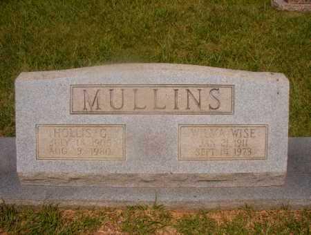 WISE MULLINS, WILMA - Hempstead County, Arkansas | WILMA WISE MULLINS - Arkansas Gravestone Photos