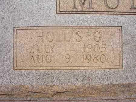 MULLINS, HOLLIS G (CLOSEUP) - Hempstead County, Arkansas   HOLLIS G (CLOSEUP) MULLINS - Arkansas Gravestone Photos