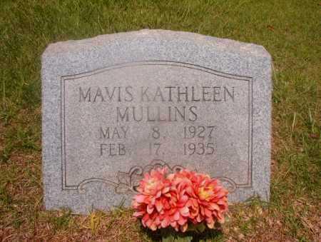 MULLINS, MAVIS KATHLEEN - Hempstead County, Arkansas   MAVIS KATHLEEN MULLINS - Arkansas Gravestone Photos