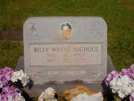 NICHOLS, BILLY WAYNE - Hempstead County, Arkansas   BILLY WAYNE NICHOLS - Arkansas Gravestone Photos