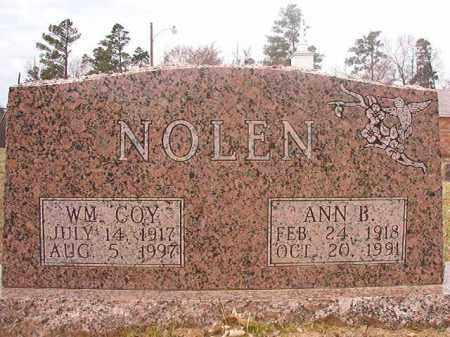 NOLEN, WILLIAM COY - Hempstead County, Arkansas   WILLIAM COY NOLEN - Arkansas Gravestone Photos