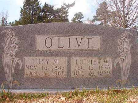 OLIVE, LUTHER W - Hempstead County, Arkansas | LUTHER W OLIVE - Arkansas Gravestone Photos