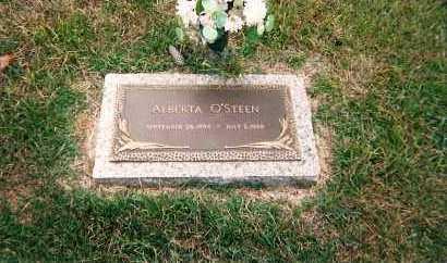 HARTSFIELD O'STEEN, ALBERTA MATHEW - Hempstead County, Arkansas | ALBERTA MATHEW HARTSFIELD O'STEEN - Arkansas Gravestone Photos