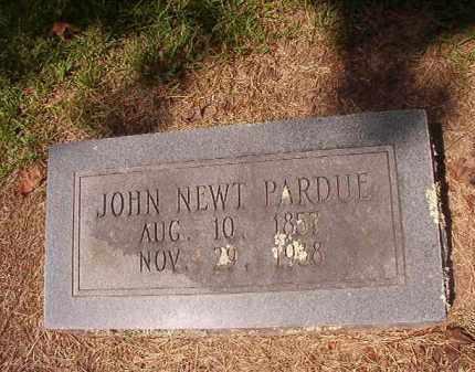 PARDUE, JOHN NEWT - Hempstead County, Arkansas   JOHN NEWT PARDUE - Arkansas Gravestone Photos