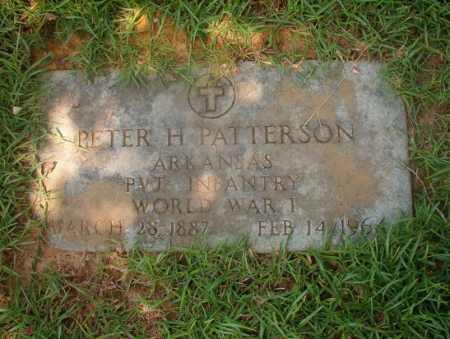 PATTERSON (VETERAN WWI), PETER H - Hempstead County, Arkansas | PETER H PATTERSON (VETERAN WWI) - Arkansas Gravestone Photos
