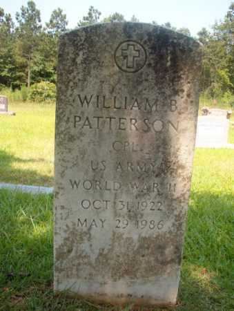 PATTERSON (VETERAN WWII), WILLIAM B - Hempstead County, Arkansas | WILLIAM B PATTERSON (VETERAN WWII) - Arkansas Gravestone Photos