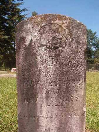 PAXTON, W W - Hempstead County, Arkansas   W W PAXTON - Arkansas Gravestone Photos