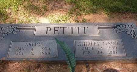 PETTIT, ARLICE - Hempstead County, Arkansas | ARLICE PETTIT - Arkansas Gravestone Photos