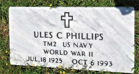 PHILLIPS (VETERAN KOR), ULES C - Hempstead County, Arkansas | ULES C PHILLIPS (VETERAN KOR) - Arkansas Gravestone Photos