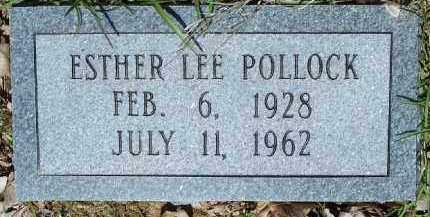 POLLOCK, ESTHER LEE - Hempstead County, Arkansas   ESTHER LEE POLLOCK - Arkansas Gravestone Photos