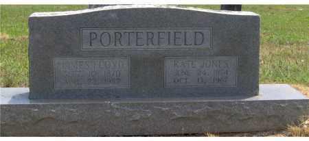 PORTERFIELD, JAMES FLOYD - Hempstead County, Arkansas | JAMES FLOYD PORTERFIELD - Arkansas Gravestone Photos