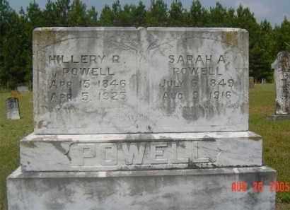 POWELL, SARAH A. - Hempstead County, Arkansas | SARAH A. POWELL - Arkansas Gravestone Photos