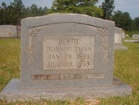 PUTMAN, BERTIE - Hempstead County, Arkansas | BERTIE PUTMAN - Arkansas Gravestone Photos