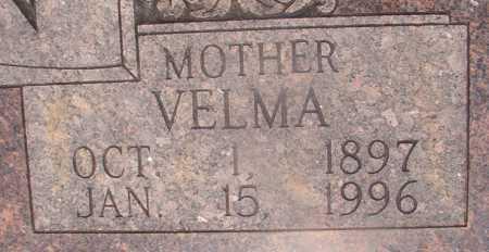 PUTMAN, VELMA (CLOSEUP) - Hempstead County, Arkansas | VELMA (CLOSEUP) PUTMAN - Arkansas Gravestone Photos