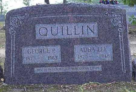 QUINN QUILLIN, ADDA LEE - Hempstead County, Arkansas | ADDA LEE QUINN QUILLIN - Arkansas Gravestone Photos