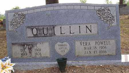 QUILLIN, VERA OCIE - Hempstead County, Arkansas | VERA OCIE QUILLIN - Arkansas Gravestone Photos