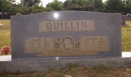 QUILIN, JENETTA ADA - Hempstead County, Arkansas | JENETTA ADA QUILIN - Arkansas Gravestone Photos