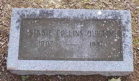 QUILLIN, SIBBIE - Hempstead County, Arkansas | SIBBIE QUILLIN - Arkansas Gravestone Photos