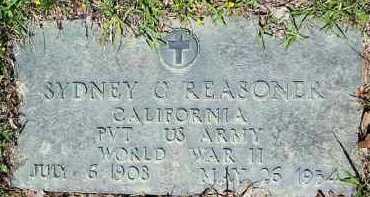 REASONER (VETERAN WWII), SYDNEY C - Hempstead County, Arkansas | SYDNEY C REASONER (VETERAN WWII) - Arkansas Gravestone Photos