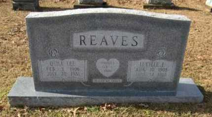 REAVES, OTHA LEE - Hempstead County, Arkansas   OTHA LEE REAVES - Arkansas Gravestone Photos