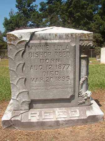 BISHOP REED, MINNIE LULA - Hempstead County, Arkansas | MINNIE LULA BISHOP REED - Arkansas Gravestone Photos