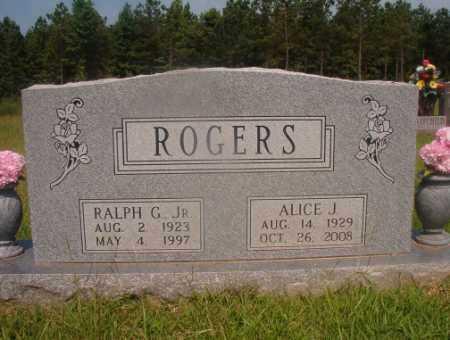 ROGERS, ALICE J - Hempstead County, Arkansas | ALICE J ROGERS - Arkansas Gravestone Photos