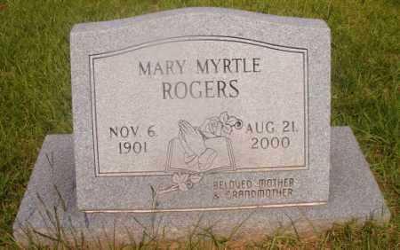 ROGERS, MARY MYRTLE - Hempstead County, Arkansas | MARY MYRTLE ROGERS - Arkansas Gravestone Photos