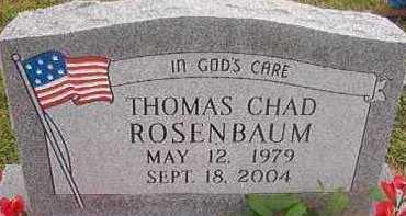 ROSENBAUM, THOMAS CHAD - Hempstead County, Arkansas | THOMAS CHAD ROSENBAUM - Arkansas Gravestone Photos
