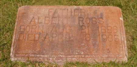 ROSS, ALBERT - Hempstead County, Arkansas   ALBERT ROSS - Arkansas Gravestone Photos