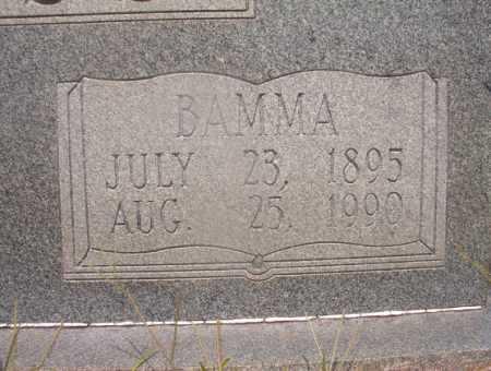 ROSS, BAMMA (CLOSEUP) - Hempstead County, Arkansas   BAMMA (CLOSEUP) ROSS - Arkansas Gravestone Photos