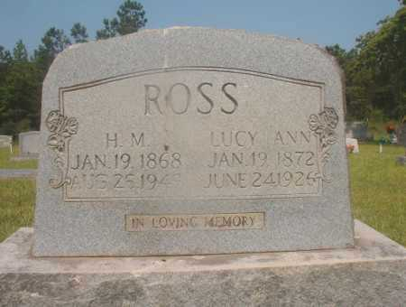 ROSS, LUCY ANN - Hempstead County, Arkansas | LUCY ANN ROSS - Arkansas Gravestone Photos